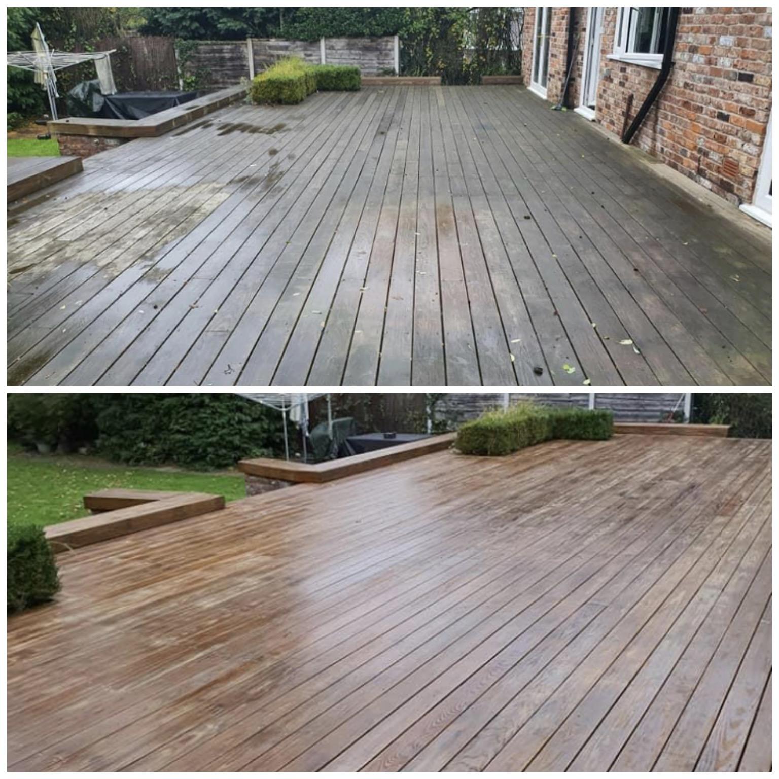 deck cleaning dublin