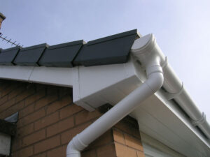 fascia and soffits clean